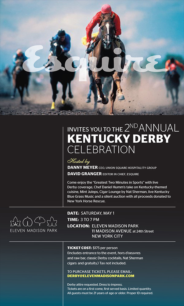 2nd Annual Kentucky Derby Invite